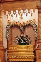 Рака святителя Иакова в Яковлевском храме Спасо-Яковлевского монастыря, фото 2011 г.