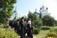 Митрополит Пантелеимон в Спасо-Яковлевском монастыре