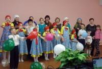 Воскресная школа в гостях в Доме Культуры поездка в Пужбол 22 апреля 2017 г.