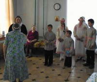Выступление учащихся Воскресной школы в Доме сестринского ухода 25 февраля 2017 г.