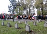 На Ростовском военном кладбище. 9 мая 2017 г.