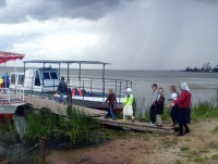 Прогулка по озеру. 14 июля 2017 г.