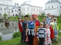 На фестивале «Живая старина».