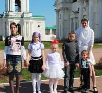 Ученики Воскресной школы и их родители. Мы вместе.