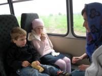 Ольга с детьми