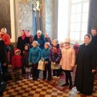 На Божественной литургии в день памяти Свт. Димитрия Ростовского