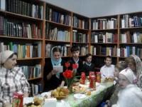 Встреча в монастырской библиотеке ко Дню Победы 10 мая 2015 г.