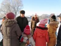 Посещение Воскресной школой Троице-Сергиева Варницкого монастыря