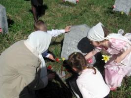 Воскресная школа. Празднование Дня Победы 9 мая 2013 года.
