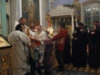 Первое причастие воспитанников воскресной школы 2013 г.