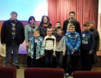 Встреча учеников Воскресной школы с мастерами отечественной мультипликации  25 марта 2016 г.