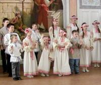 Выступление учеников Воскресной школы 13 марта 2016 г.