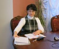 Автор и ведущая встречи, Мария Леонидовна Рубцова, референт по научной работе наместника Спасо-Яковлевского монастыря.