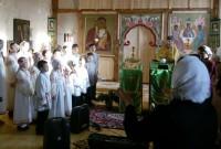 Концерт в учеников воскресной школы в храме села Пречистое 20 ноября 2016 г.