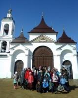 Поездка учеников Воскресной школы к Животворящему Кресту Господню 27 марта 2016 г.