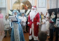 Детский Рождественский праздник в Спасо-Яковлевском монастыре 17 января 2016 года.