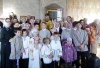 Ученики воскресной школы в селе Пречистое 20 ноября 2016 г.