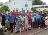 Поездка учеников монастырской Воскресной школы в Толгский монастырь 28 августа 2016 г.