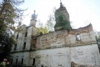 Храм Происхождения Честных Древ Христа Господня на месте Сергиево-Нуромского монастыря.