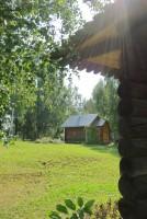 Часовня над мощами прп. Павла Обнорского в монастыре.