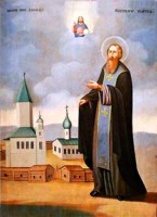 Икона прп. Александра Куштского.