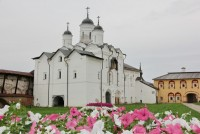 Преображенский храм Кирилло-Белозерского монастыря.