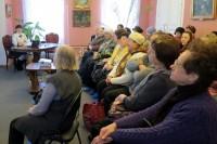 Лекция о св. Иоанне Кронштадтском в Музее ростовского купечества 26 января 2017 г.