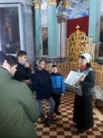 Посещение монастыря воспитанниками приюта для мальчиков при Николо-Шартомском монастыре. 2017 г.