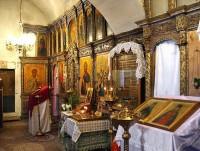 Надвратные храмы Ферапонтова монастыря.