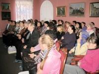 Лекция М.Л. Рубцовой в музее Ростовского купечества.