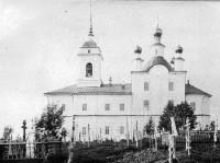 Храм Происхождения Честных Древ Креста Господня бывшего Спасо-Нуромского монастыря – в начале XX века.