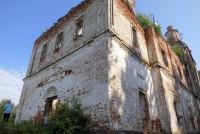 Храм Происхождения Честных Древ Креста Господня бывшего Спасо-Нуромского монастыря – в начале XXI века.