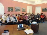 Литературно-историческая встреча в Музее ростовского купечества 1 марта 2018 г.