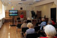 Монастырский лекторий в клубе «ПоЧтение» в Ярославской областной научной библиотеке.