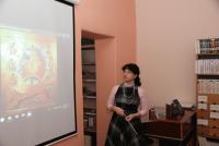 Лекция М. Л. Рубцовой в библиотеке им. В. А. Замыслова 26 января 2018 г.