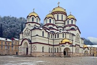 Собор Ново-Афонского монастыря