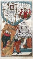 Иллюстрация ко 2-ой главе Книги Откровения из лицевого Апокалипсиса