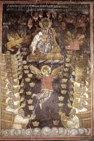 Видение небесного престола и 24-х старцев. Афонская фреска