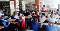 Беседа в Судинской средней школе им. Евгения Родионова