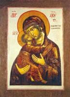 Владимирская-Ростовская икона Пресвятой Богородицы