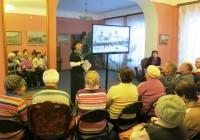 Беседа Марии Рубцовой, посвященная ростовским святым, в Музее ростовского купечества 20 ноября 2014 г.