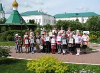 Встреча с учениками Варницкой гимназии, июнь 2012г.