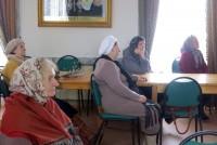 «Навстречу Пасхе» - встреча для прихожан прошла в Актовом зале Спасо-Яковлевского монастыря 5 апреля 2015 г.