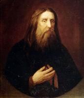 Портрет прп. Серафима Саровского, считающийся его прижизненным изображением. Худ. Д. Евстафьев. Хранится в ЦАК МДА
