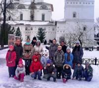 Посещение Толгской обители учениками Воскресной школы Спасо-Яковлевского монастыря 4 января 2015 года