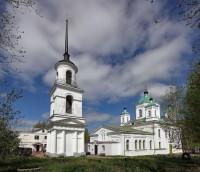 Город Кашин. Воскресенский собор.